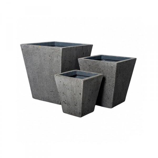 Thom Pflanzkübel Laterite Grey Collection