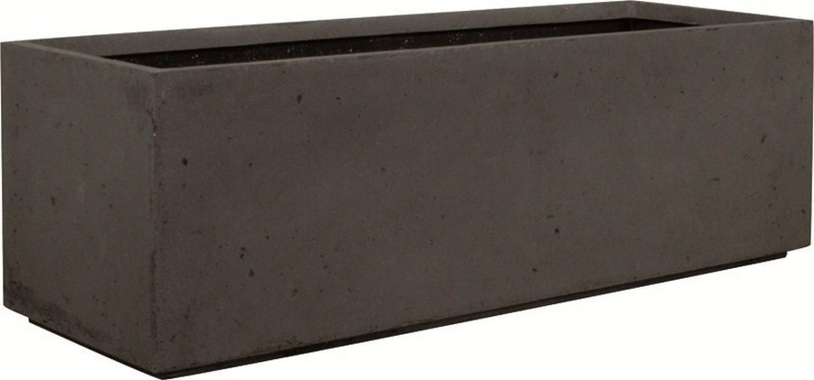Divide anthracite | Polystone Pflanztrog