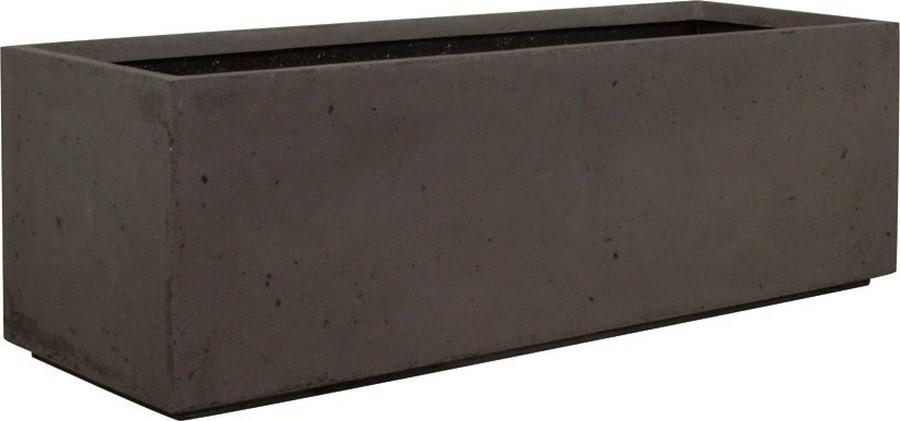 divide anthracite polystone pflanztrog terrapalme heim. Black Bedroom Furniture Sets. Home Design Ideas