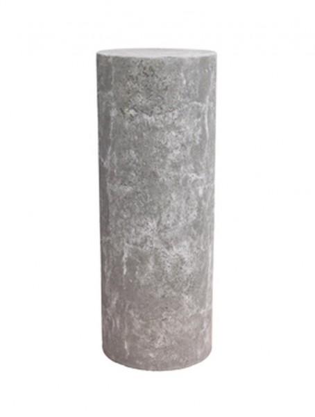 Polystone Dekosäule lavagrau | rund