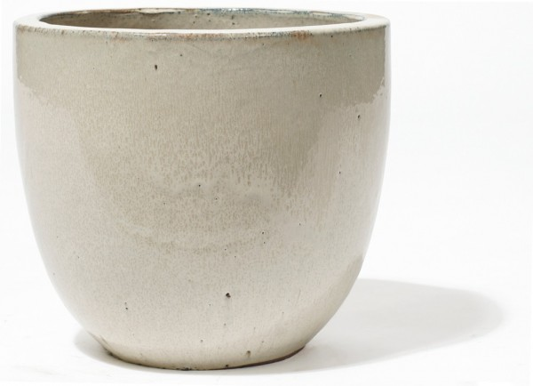 Vaso Pinolo | Creme Keramikkübel