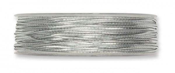 Gimpeband Lurex silber 2 mm - 50 m