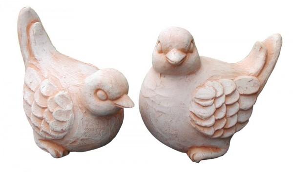 Vogel 2er Set - Rossini Terracotta