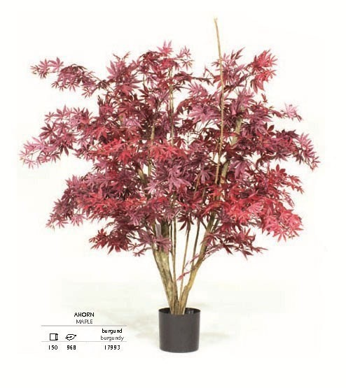Ahorn burgund 150 cm - Kunstpflanze