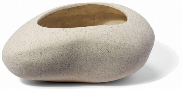 Ayers Rock Cream Pflanzkübel Steinform | ArtLine Stone