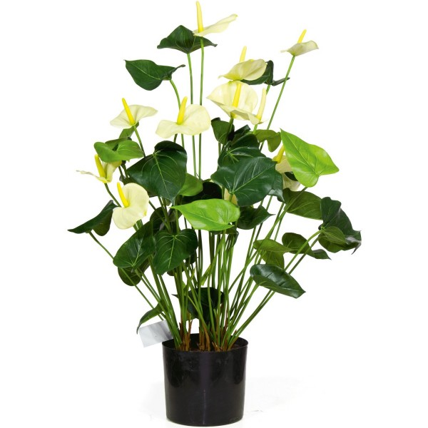 Anthurie 2er Set - Anthurium Kunstpflanze