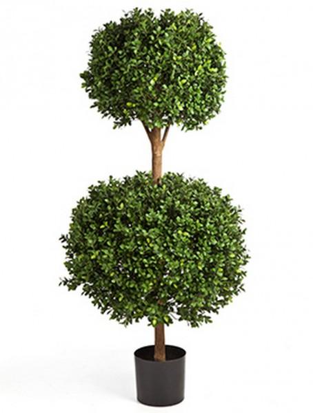 Buxus Doppelkugel Kunstbaum