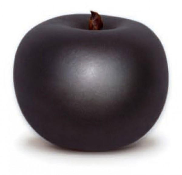 Keramik Apfel graphite   Cores da Terra