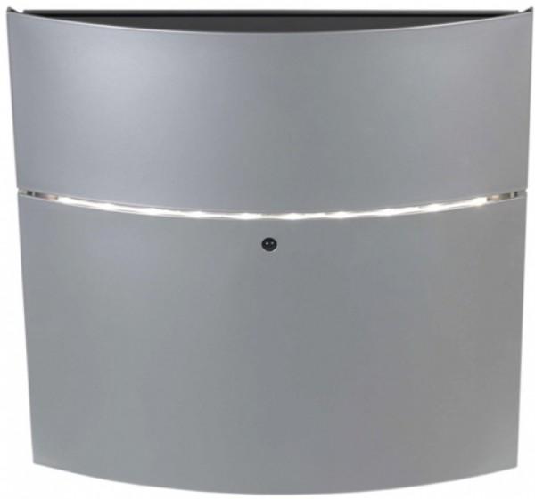 LED Briefkasten Safe Post 12-4 mit integriertem LED-Licht