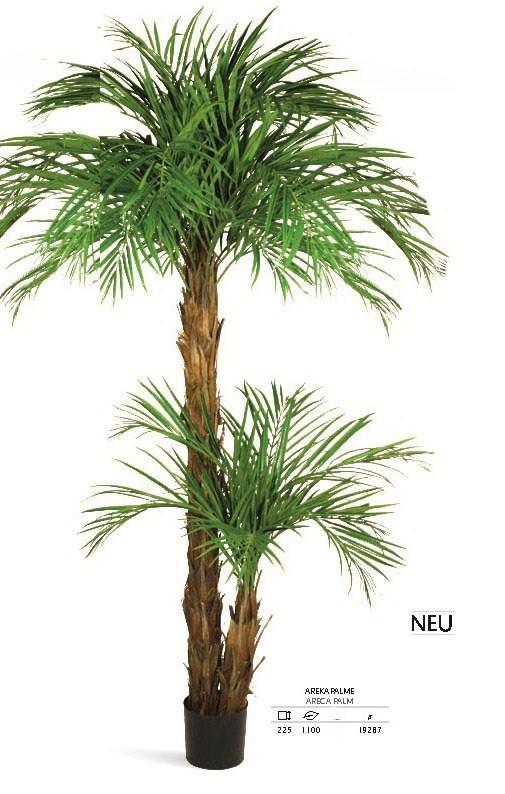 Areca Palme 225 cm - Kunstpflanze
