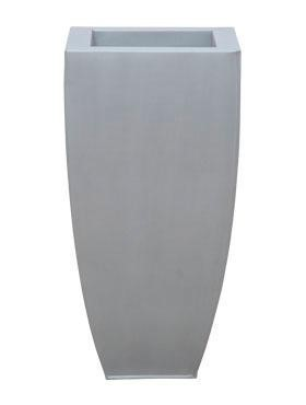 Zink Metallook Chinook Pflanzvase