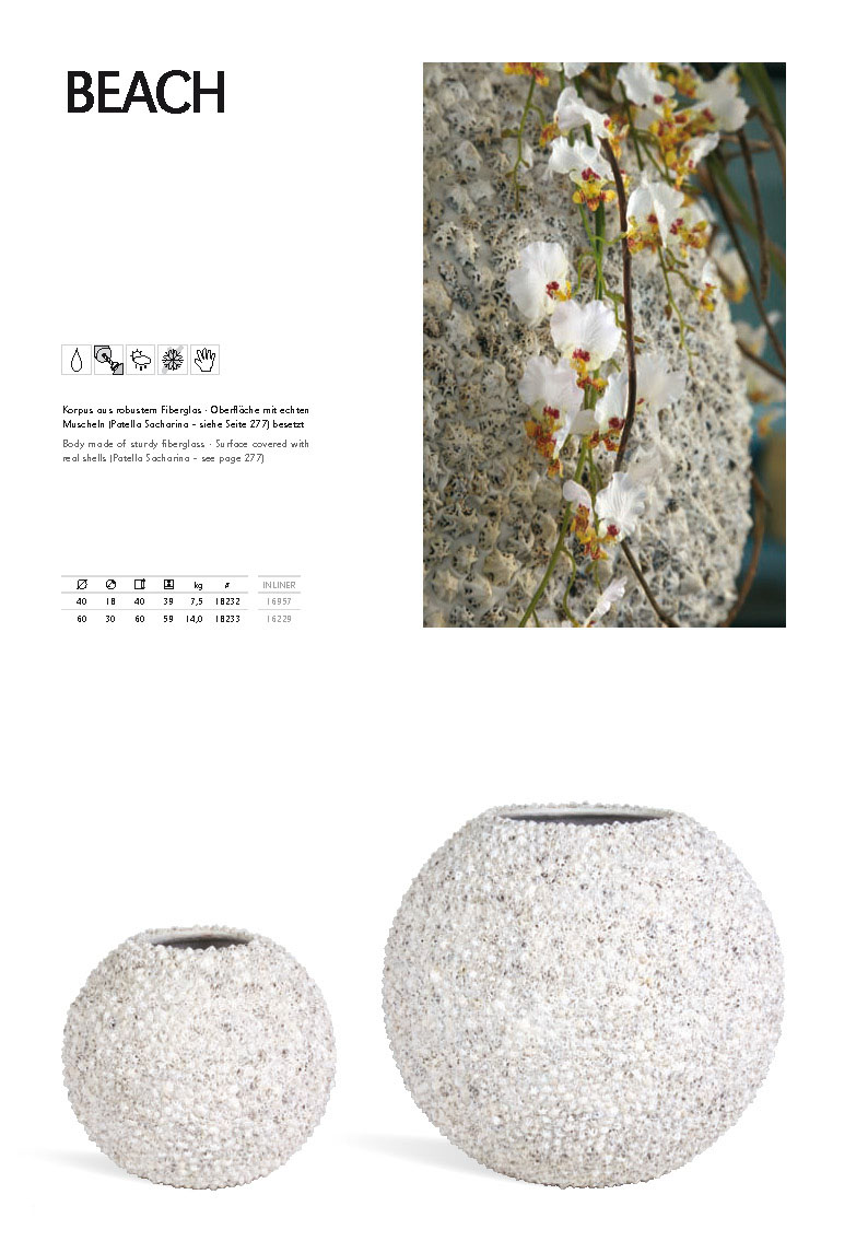beach polystone pflanzk bel palmenmarkt. Black Bedroom Furniture Sets. Home Design Ideas