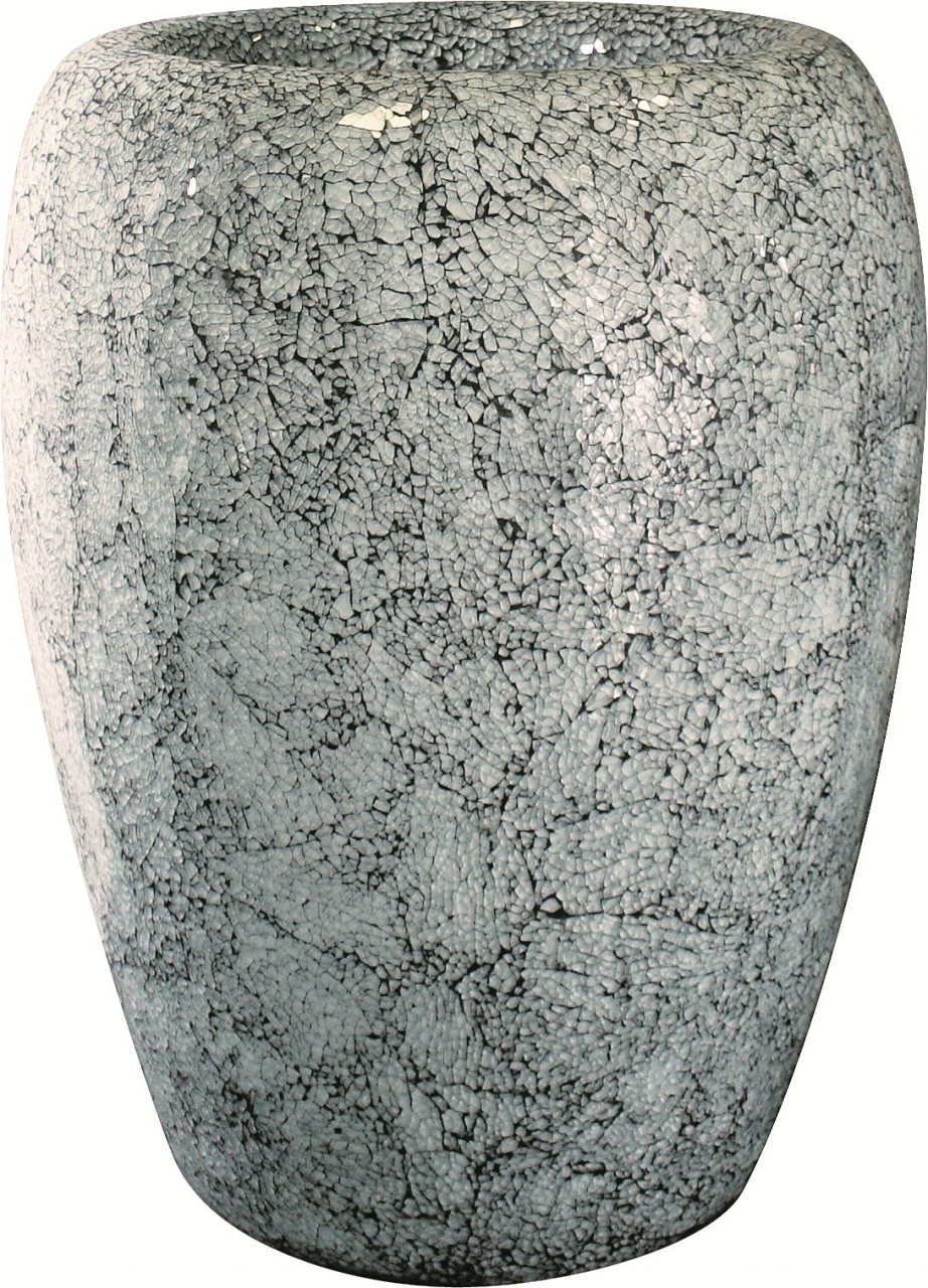 One Aqua | Glasmosaik Pflanzvase