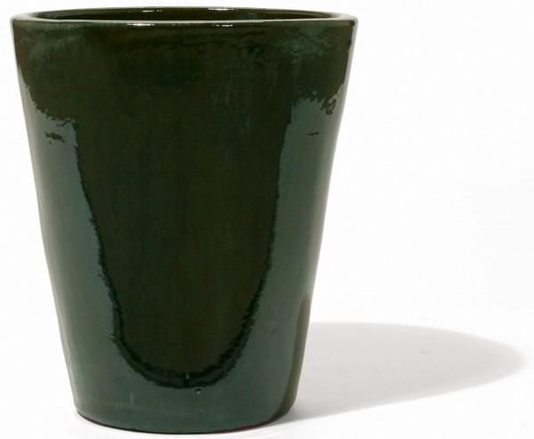 Vaso Mezzo Alto | Old English Green Keramikkübel