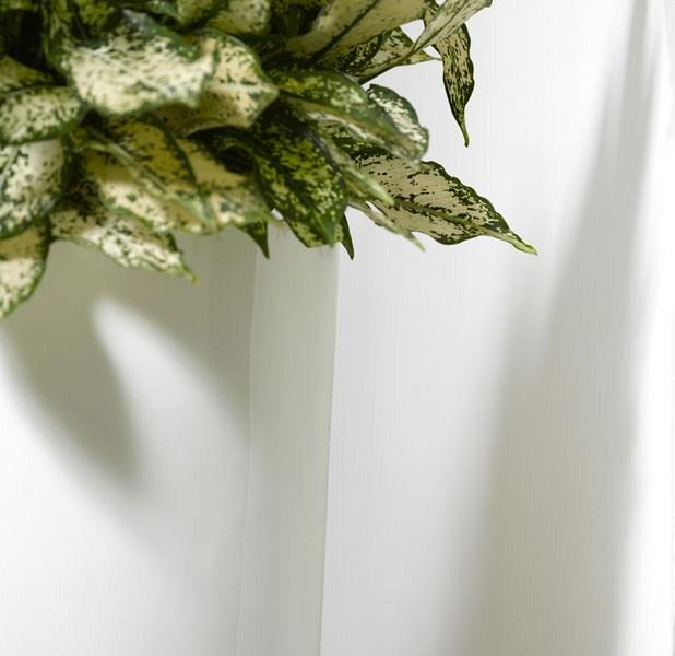 Krappa Bamboo White Detail
