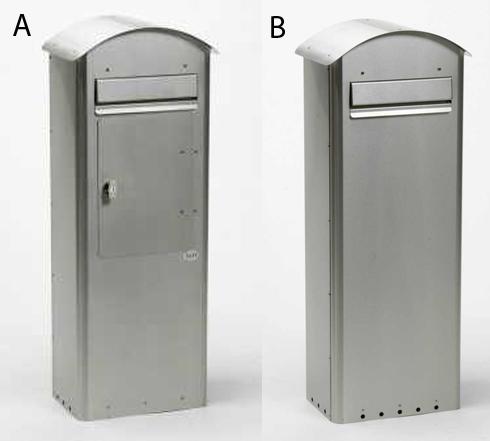 SafePost 70-5-Combi-Briefkasten-Combi