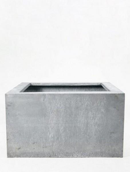 Acier Square Pflanzkübel aus Feuerverzinktem Stahl | Terrapalme Heim ...