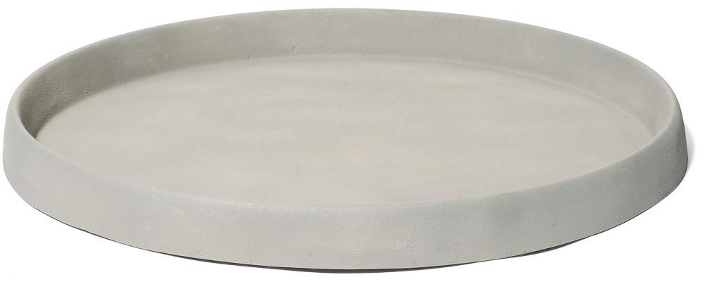 Untersetzer rund für Pflanzkübel   Artline Cement   Terrapalme Heim ...