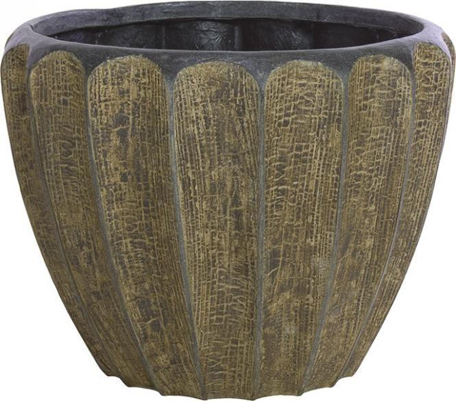 firewood fiberglas pflanzvase terrapalme heim und. Black Bedroom Furniture Sets. Home Design Ideas