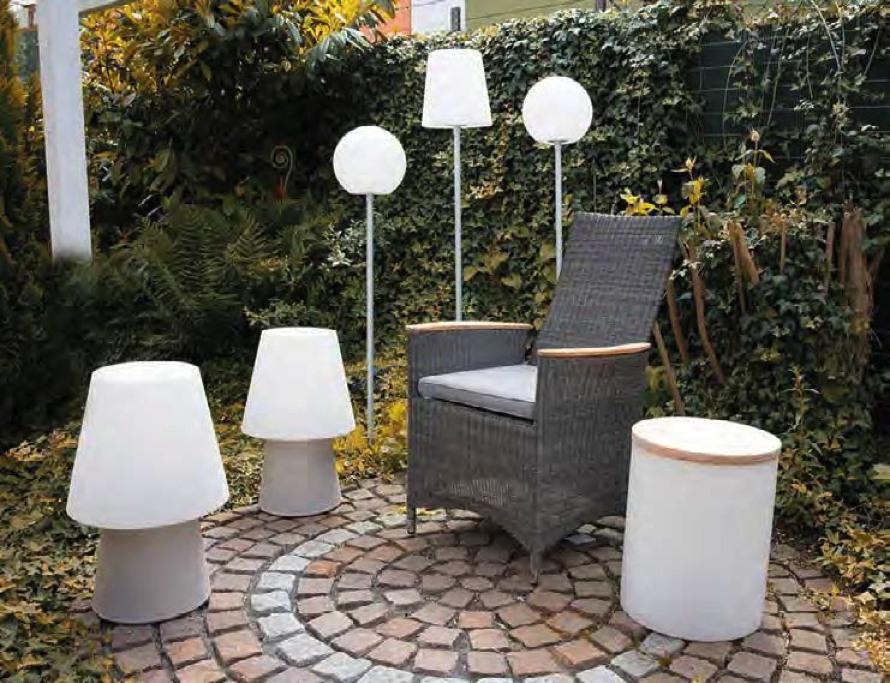globe on stick kugel au enleuchte auf stab terrapalme heim und gartenshop. Black Bedroom Furniture Sets. Home Design Ideas