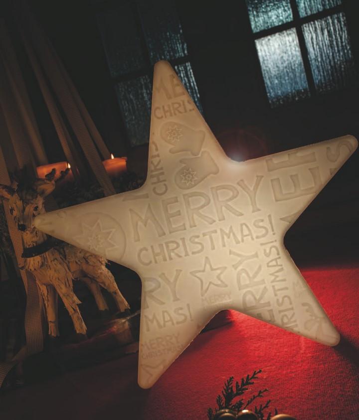 shining star merry christmas stern au enleuchte. Black Bedroom Furniture Sets. Home Design Ideas