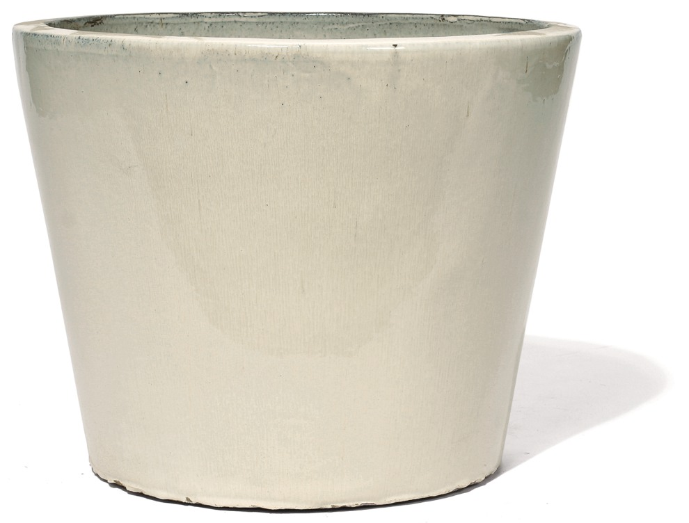 Keno   Creme Keramikkübel   Terrapalme Heim- und Gartenshop