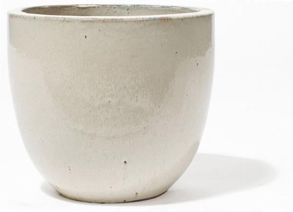 Vaso Pinolo   Creme Keramikkübel   Terrapalme Heim- und Gartenshop