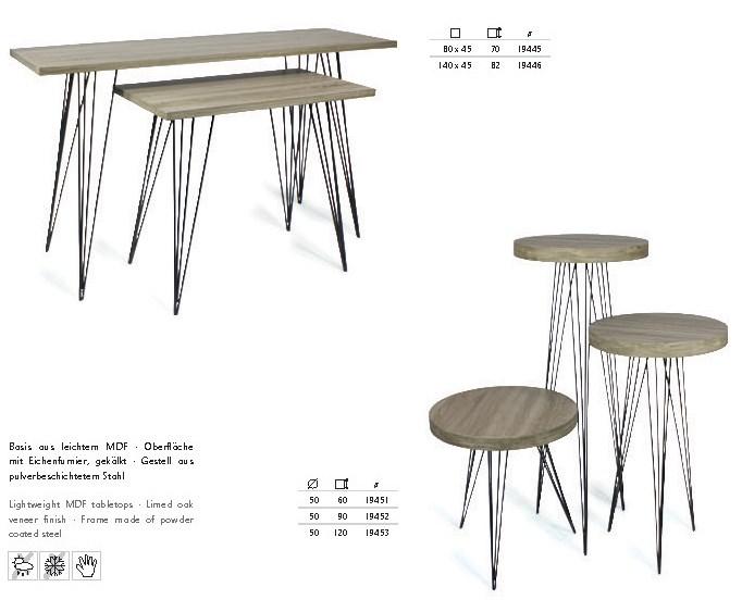 expo-tisch-stuhl-serie