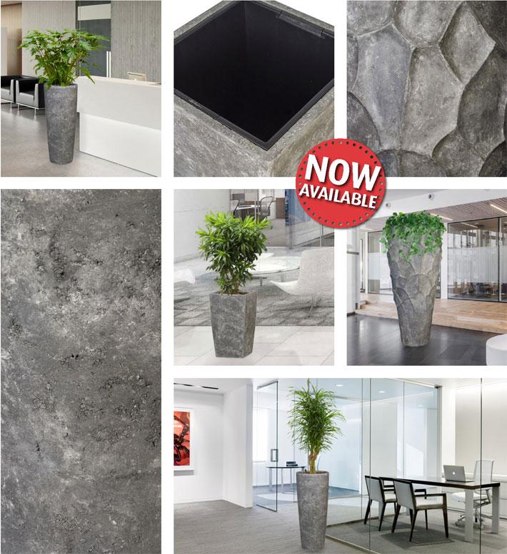 nathan james lavagrau xxl pflanzk bel timeless polystone. Black Bedroom Furniture Sets. Home Design Ideas