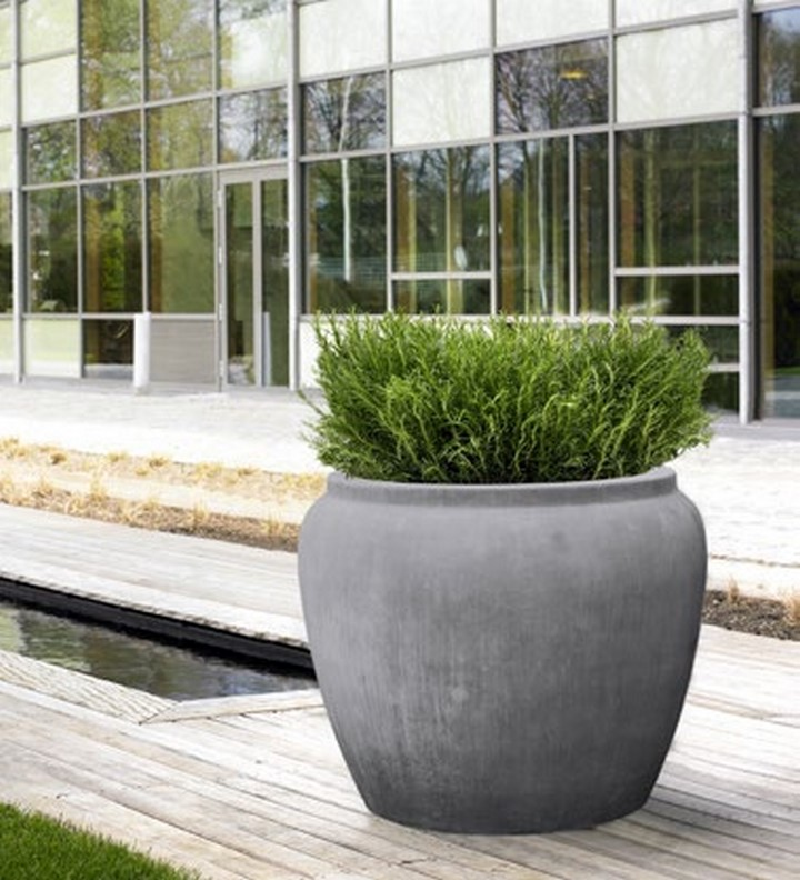 grey welsh round alegria water jar pflanzk bel xxl terrapalme heim und gartenshop. Black Bedroom Furniture Sets. Home Design Ideas