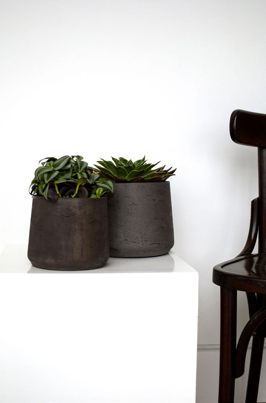 kevan rough pflanztopf eco ficonstone terrapalme heim und gartenshop. Black Bedroom Furniture Sets. Home Design Ideas