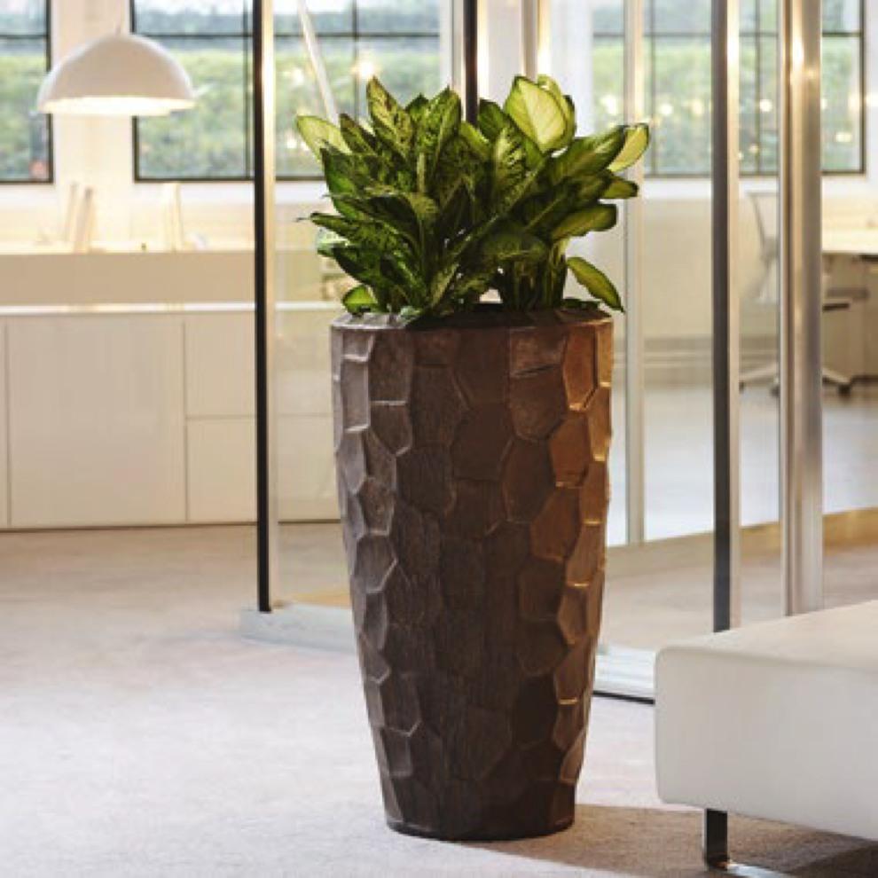 sepia relief cascara couple keramik pflanzk bel terrapalme heim und gartenshop. Black Bedroom Furniture Sets. Home Design Ideas